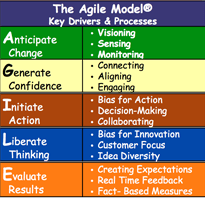 "How to become more agile – the ""agile model"""