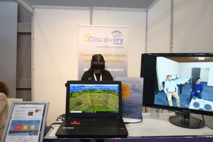 5Discovery Virtual Learning at the University of Evry