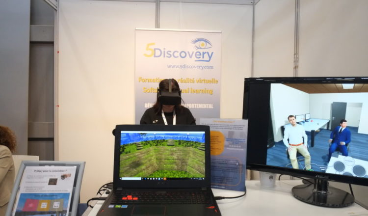 5Discovery Virtual Learning est à l'université d'Evry