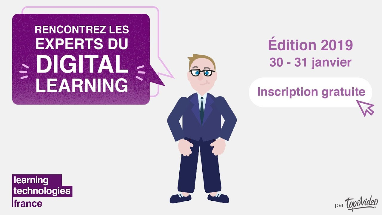 5Discovery est au Learning Technology France le 30 et 31 Janvier 2019/ Porte de Versaille, Paris