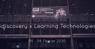 5Discovery au Salon Learning Technologies – Paris Expo 2020