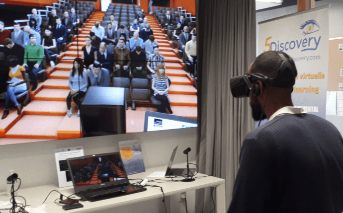 EdTechActu talks about 5Discovery's VR Rooms