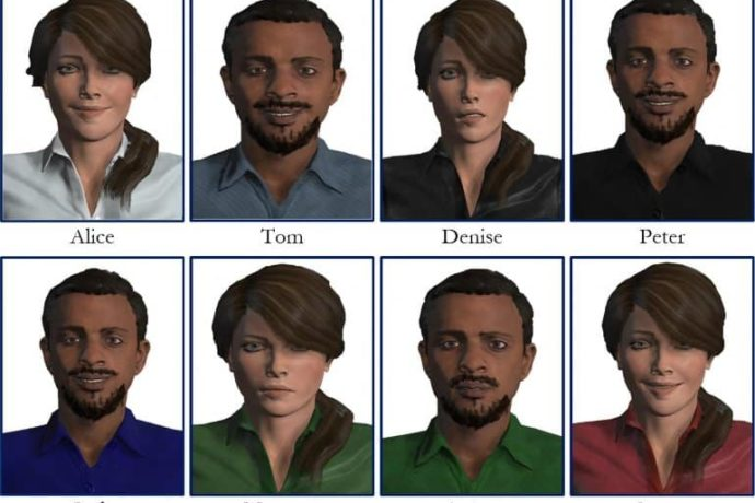 Virtual Humans Are Equal to Real Ones in Helping People Practice New Skills
